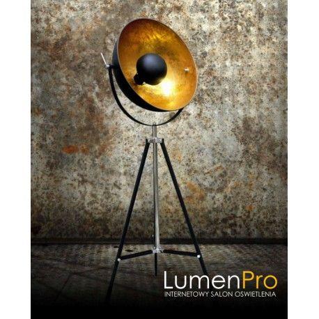 ANTENNE Zuma Line TS-090522F lampa podłogowa czarno-złota