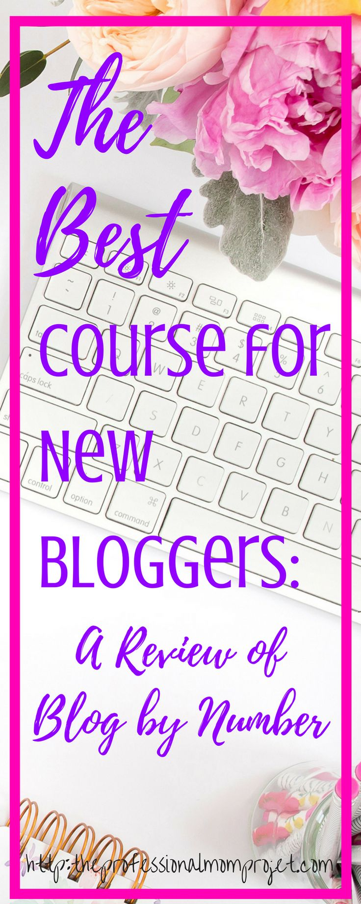 A great course for new bloggers! A Review of Blog by Number: blogging tips | new blogger | blogging ideas | blogging step by step | blogging book | blog by number review | how to start a blog