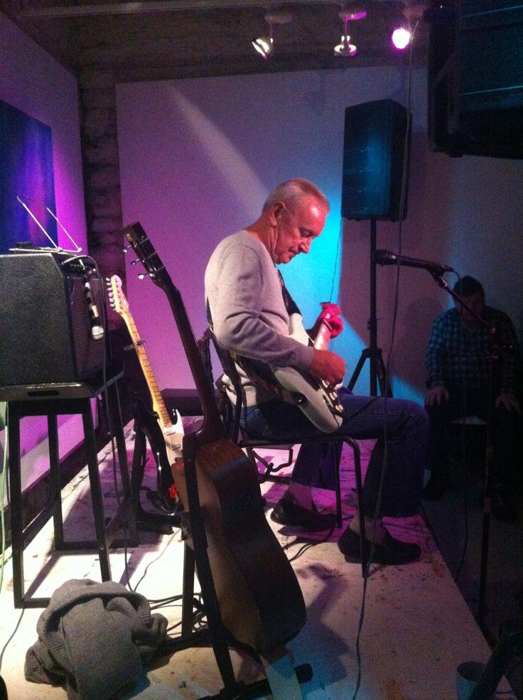 Don Baker at Saturdays night gig....we had a blast!