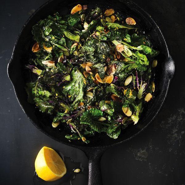 Italian Kale Sprouts