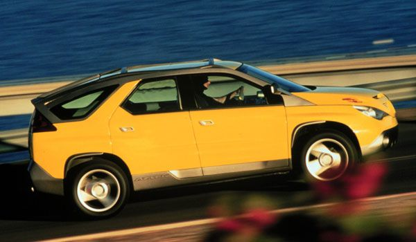 1999 Pontiac Aztek Concept. If only we had gotten this instead of what we actually received.