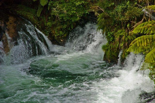 Okere Falls, Bay of Plenty, New Zealand