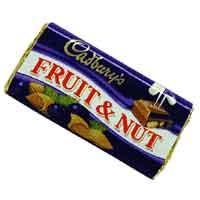 Cadbury's Fruit and Nut!