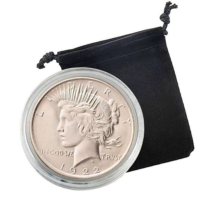 Coin Collector 1922 P-Mint Uncirculated Silver Peace Dollar Coin