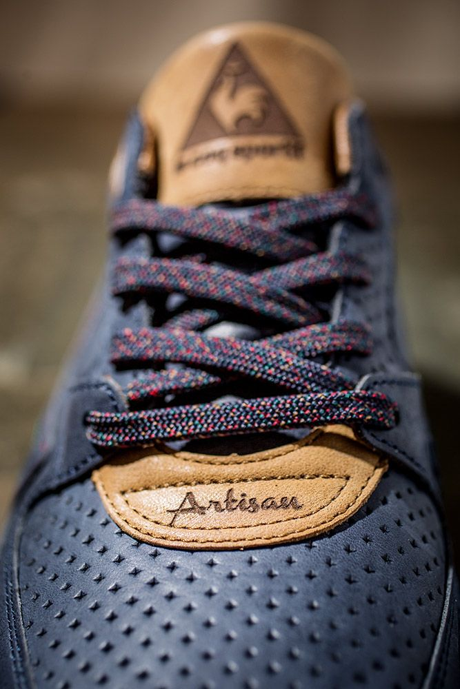 "Chubster favourite ! - Coup de cœur du Chubster ! - shoes for men - chaussures pour homme - sneakers - Footpatrol x Le Coq Sportif R800 ""Artisan"" Made in France"