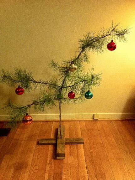 Charlie Brown tree for the condo? @Kristin Wilson