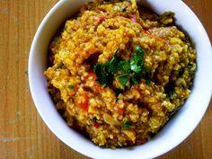 Bulgur con lenticchie speziato