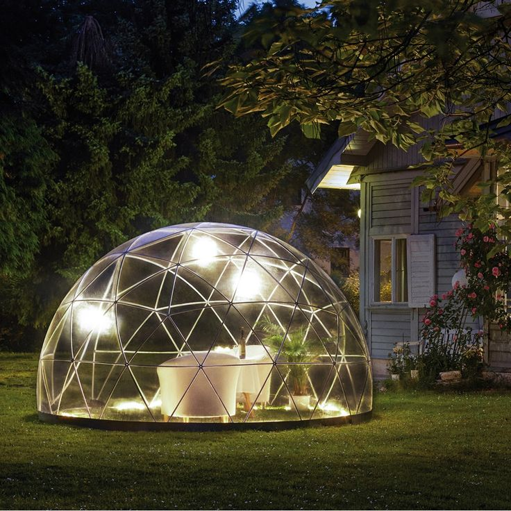 The unique Garden Igloo is a multi-purpose portable dome shaped structure that can transform your outside area and  can be used as a stylish conservatory, gazebo, greenhouse, play area, storage space or hot tub cover. As seen on The Gadget Show, the Garden Igloo  shelter is sure to be a talking point at your next BBQ. The German-designed Garden Igloo Bio-Dome can be used in both winter and summer. The Coppa Club London have made these eye-catching structures famous in the creation of their…