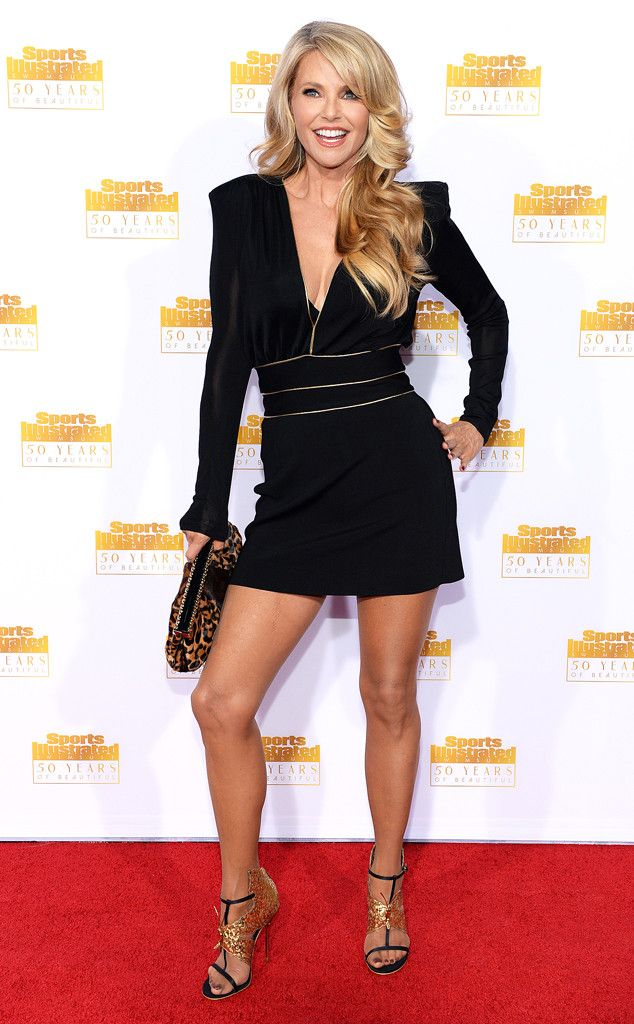 Christie Brinkley from Sports Illustrated Swimsuit Issue 50th Anniversary Party | E! Online