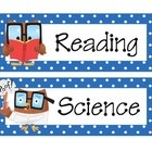 Make homework time easy with my Owl Themed Subject Labels!I use these owl themed subject labels to create a visual agenda for my students. I put ...