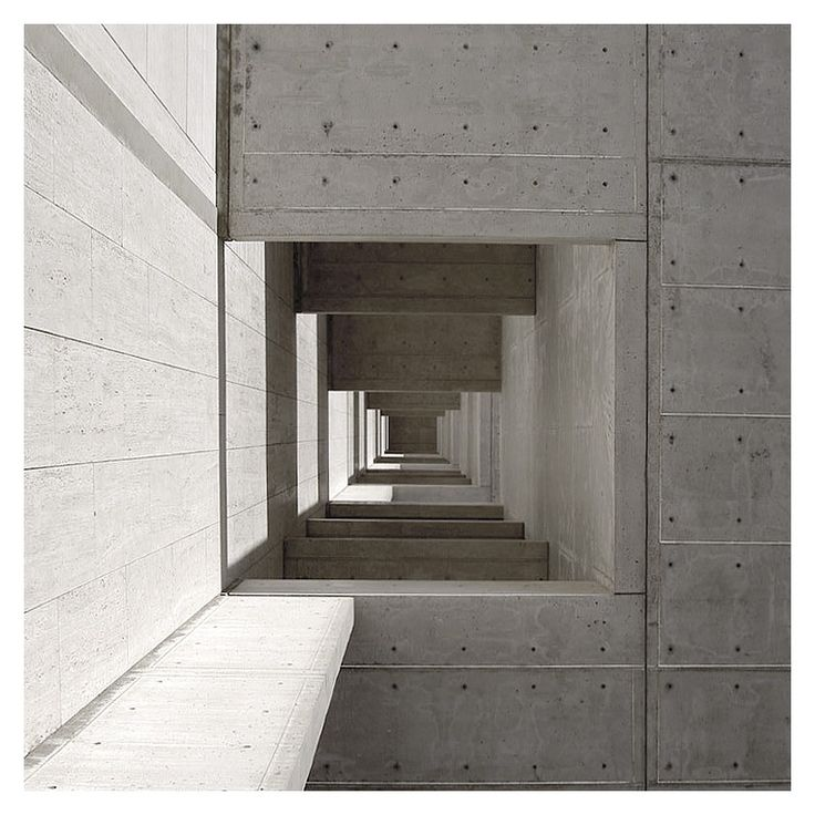 Louis Kahn - The Salk Institute [California, 1959]