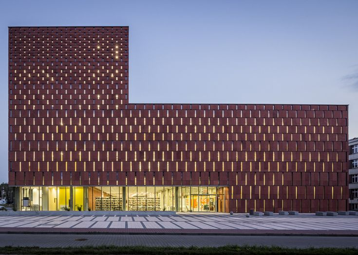 Katowice Scientific Information Centre and Academic Library by HS99