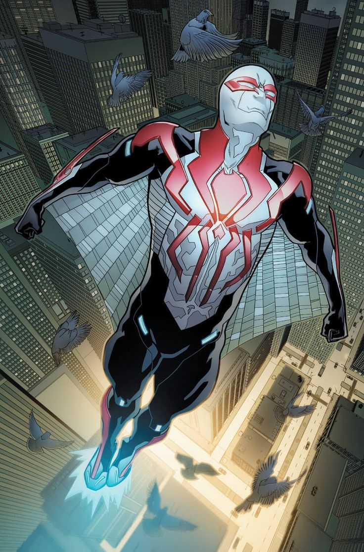 "#Spiderman #2099 #Fan #Art. (Spiderman 2099 #2 ""Preview Cover"") By: FRANCESCO MATTINA. (THE * 5 * STÅR * ÅWARD * OF: * AW YEAH, IT'S MAJOR ÅWESOMENESS!!!™)[THANK Ü 4 PINNING<·><]<©>ÅÅÅ+(OB4E)"