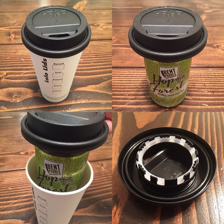 Lolo Lids Beer Cup - enjoy a stealth beer anywhere with Lolo Lids.