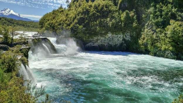 Cascadas Osorno, al nororiente del Lago Llanquihue, el segundo más grande de Chile (iStock) - Externa