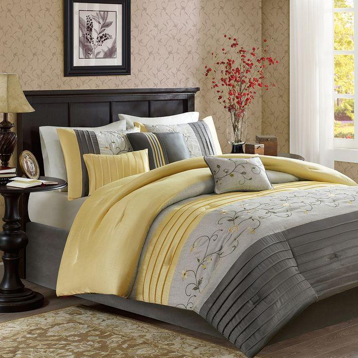 25+ best ideas about Yellow comforter set on Pinterest ...