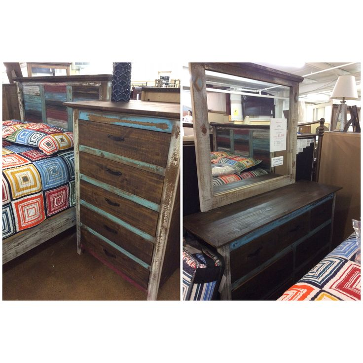 4 Piece Rustic Canyon Full Bedroom Group $1199. Bedroom Furniture
