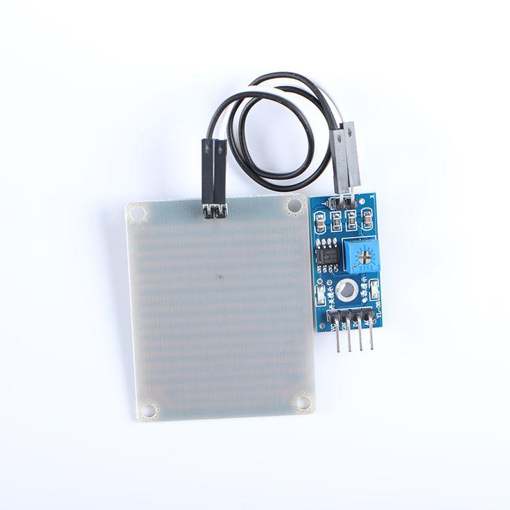 5 pcs Rain Sensor Rainwater Module Detection Module 3.3V-5V #Affiliate