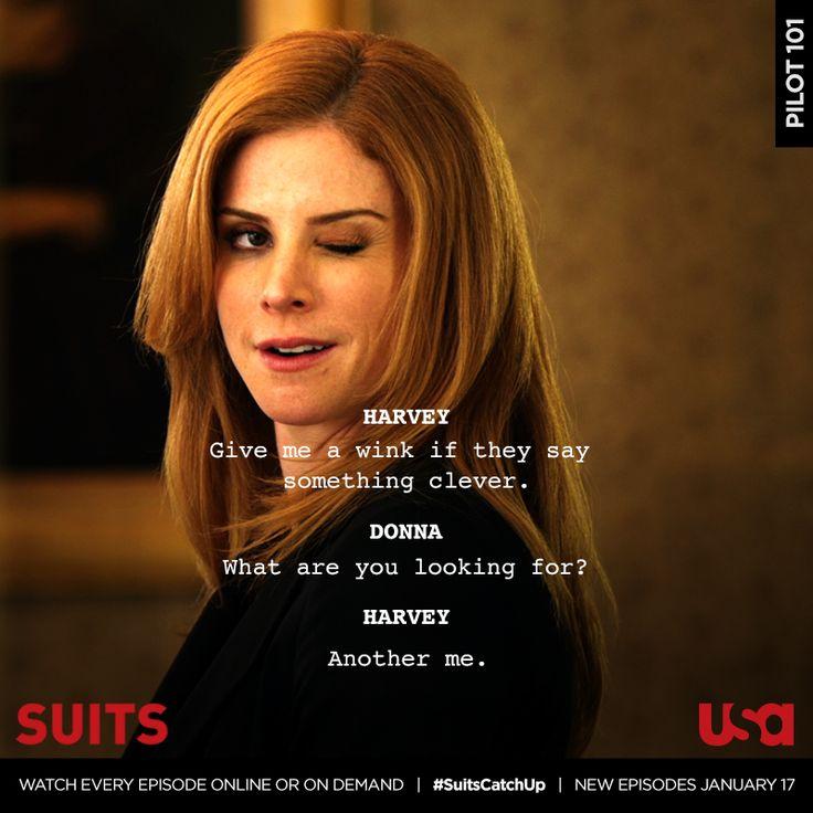 Suits tv show donna