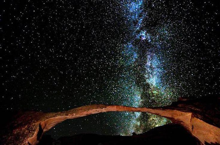 Удивительные фотографии звёздного неба от Американского фотографа Брета Вебстера, сделанные в национальных парках штата Юта. - Путешествуем вместе