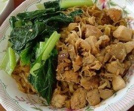 resep mie yamin ayam
