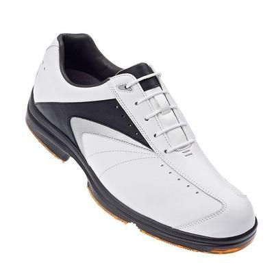 Last few pairs at this great price! The Footjoy AQL(TM) White/Black/Silver Golf Shoes Sale 52688