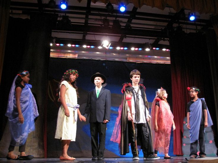 "L-R: #Juno, #Miranda, #Ferdinand, #Prospero, #Iris, and #Ceres  Iris: ""Come, nymphs, and celebrate a contract of true love…"" -Summer Camp 2013 #TheTempest #Shakespeare #Kids #SummerCamp #Camp #Acting Camp #DramaCamp #Toronto #Kids #Children #Youth #Education"