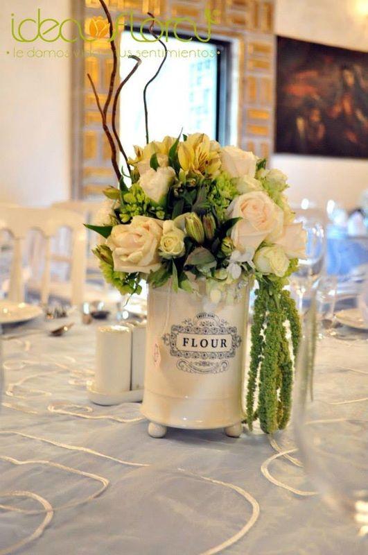 Las 25 mejores ideas sobre centro de mesa para bodas - Centros de mesa con limones ...
