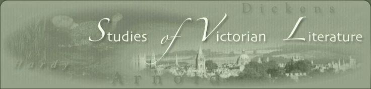 Studies of Victorian Literature