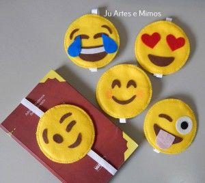 Marcador de paginas emoji