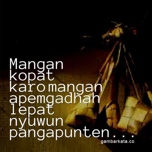 Gambar Kata Ucapan Idul Fitri Bahasa Jawa Bahasa