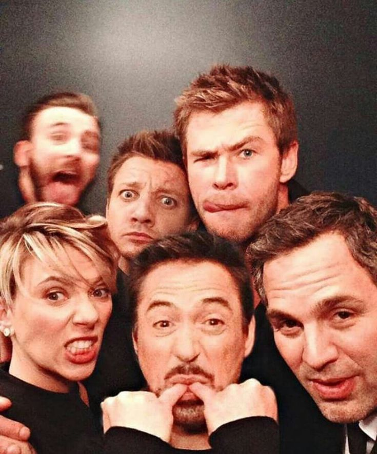 Everyone has posed and were meant to be there... And then there's Evans. He wasn't supposed to be there...
