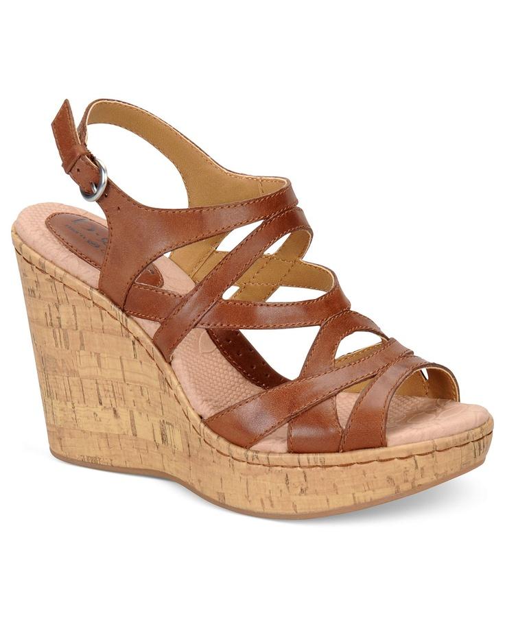 b o c by born shoes brygida platform wedge sandals