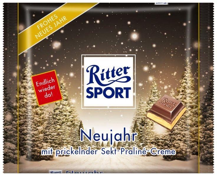 RITTER SPORT Fake Schokolade Neujahr