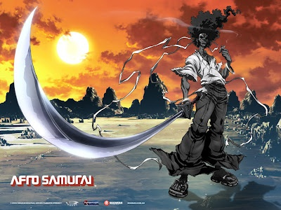 Afro Samurai  One of my favourites