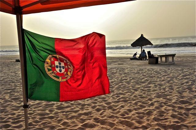 Beach in Mauritania  DDC 2012  by Rogério Gomes