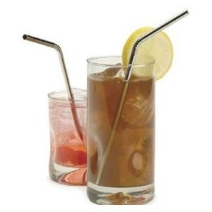 Endurance Stainless Steel Drink Staws. Plastic-free, recyclable straws!