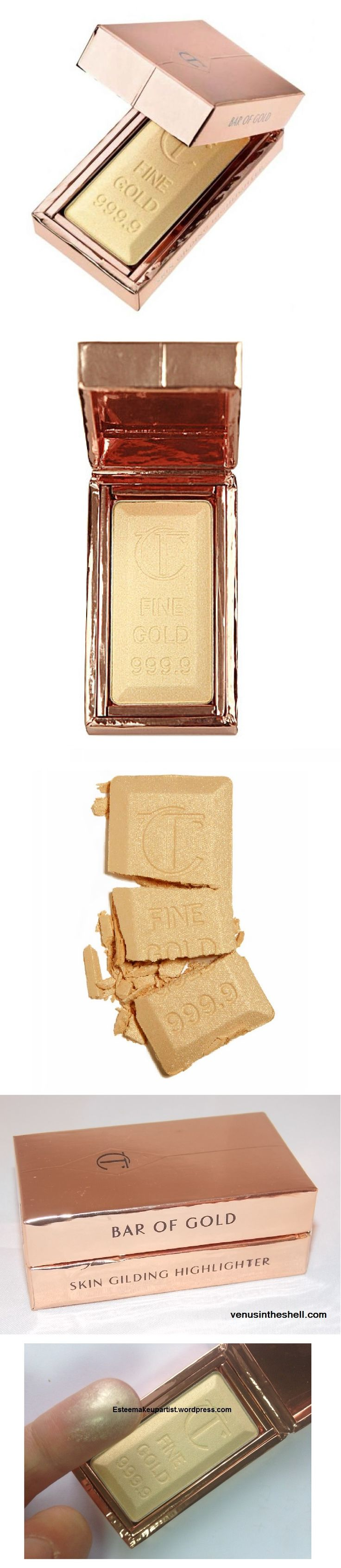Charlotte Tilbury Bar of Gold Skin Gilding Highlighter | Fall 2015 | already available in the UK, but not in the USA.