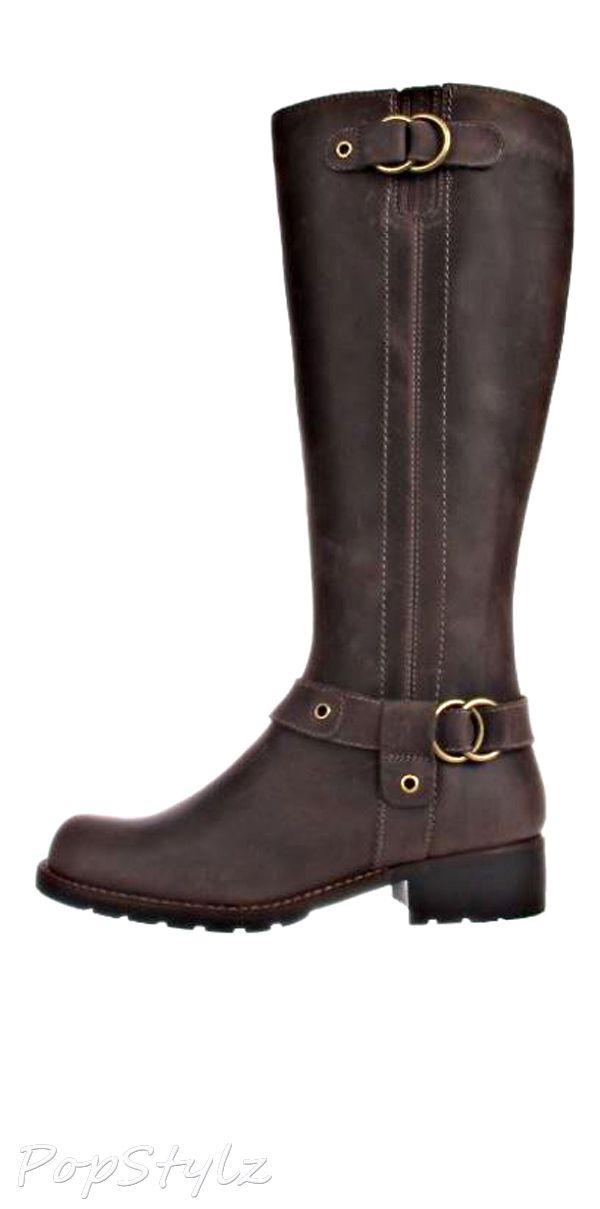 Leather Orinocco Step Motorcycle Boot
