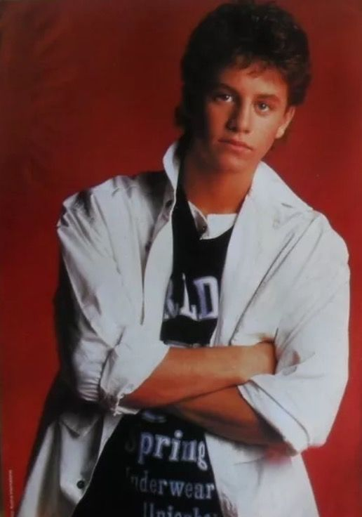 Kirk Cameron in 1987