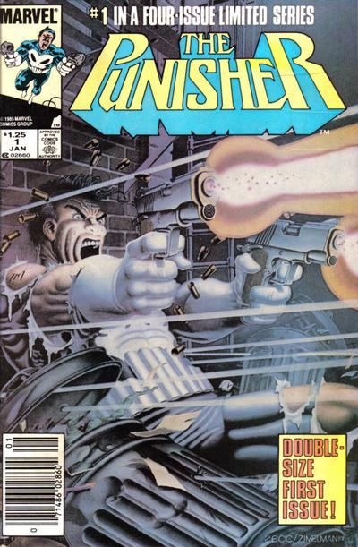 Punisher #1 (1986), comic book