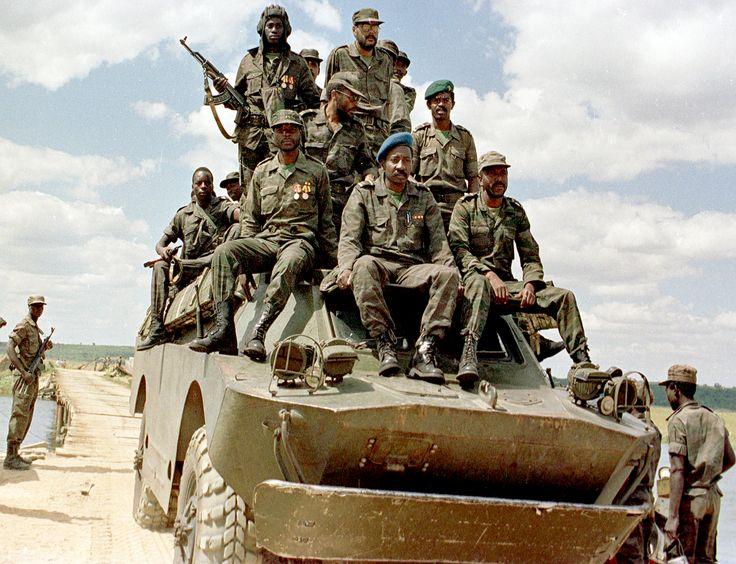 South African Border War, Namibia  Angola 1966 - 1989