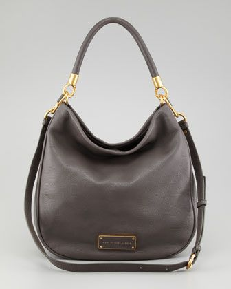 Too Hot To Handle Hobo Bag, Faded Aluminum by MARC by Marc Jacobs at Neiman Marcus.