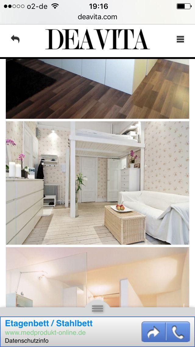 einfaches weies hochbett - Einfache Hausgemachte Etagenbetten