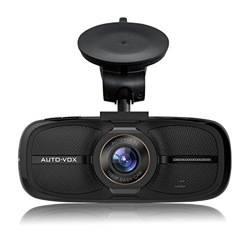 AUTO-VOX D2 Dash Cam2.7'' LCD 1080P Full HD Dashboard Camera DVR Recorder with G-Sensor WDR Loop Recording--Eyewitness On The Road