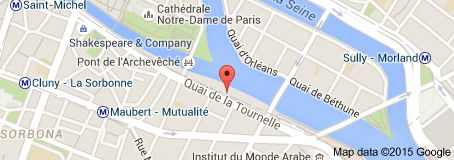Map of Port Autonome de Paris