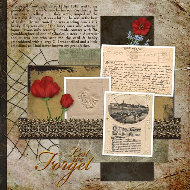 8 Best Anzac Day Images On Pinterest Heritage Scrapbooking