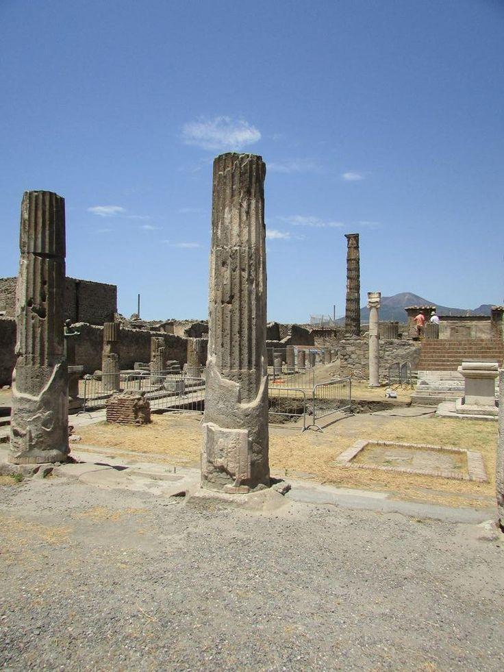 Pompeje Włochy Italy Wezuwiusz