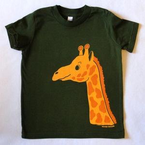 kid's Giraffe tee