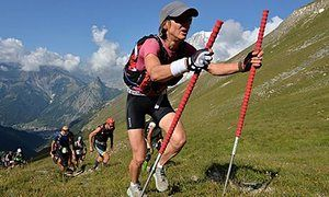 100km Ultra-Trail du Mont Blanc CCC ultramarathon through the Italian, Swiss and French Alps